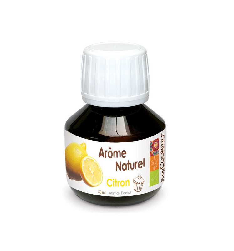 Natural lemon flavouring 50 ml