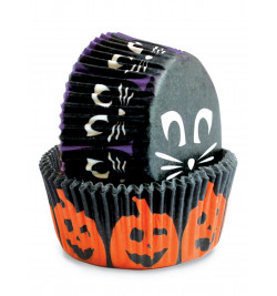 36 Halloween cupcake cases