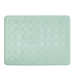 Silicone mat for macaroons