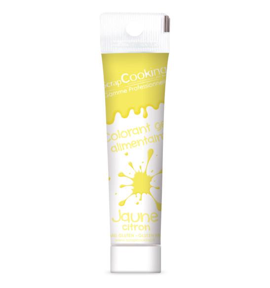 Colorant gel jaune clair 20 gr