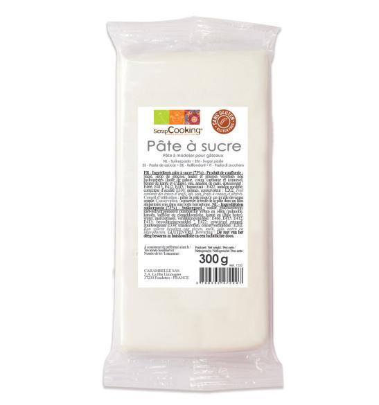 Pâte à sucre blanche 300g