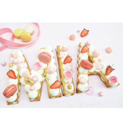 Réalisation gâteau Mia