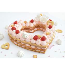 Réalisation gâteau cœur