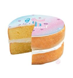Réalisation gâteau sirène réf.7279