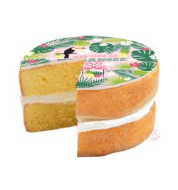 Réalisation gâteau tropical réf.7278
