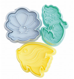 Mermaid plunger cutters