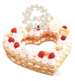 Idée de présentation cake topper réf.4996