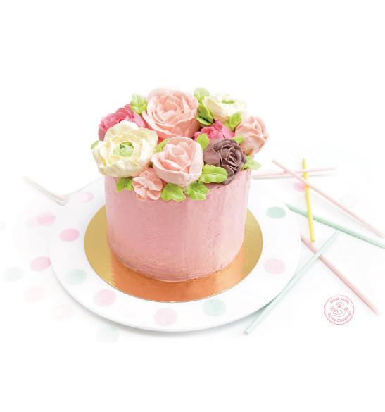 Pot flower cream nature
