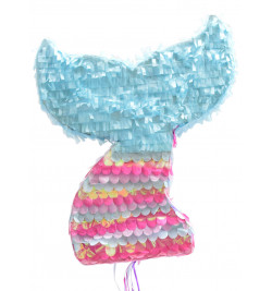 Mermaid's tail piñata