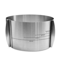 Cercle à pâtisserie extensible haut max