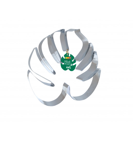 XXL Tropical Leaf cookie cutter mould
