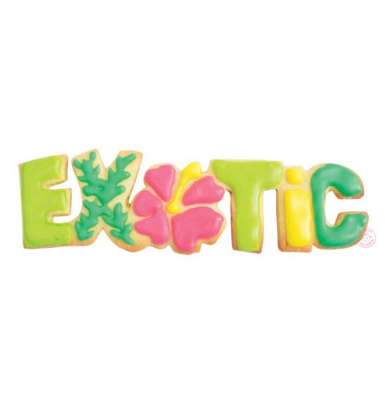 Découpoir inox mot Exotic
