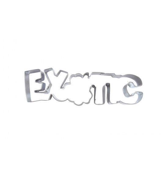 Stainless steel Exotic cookie cutter