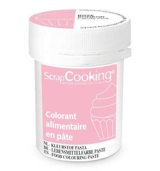Colorant alimentaire en pâte rose bonbon 20g