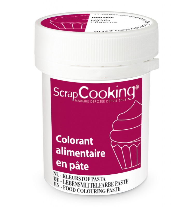 Food colouring paste 20g - Prune
