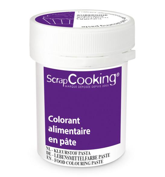 Colorant alimentaire en pâte aubergine 20g
