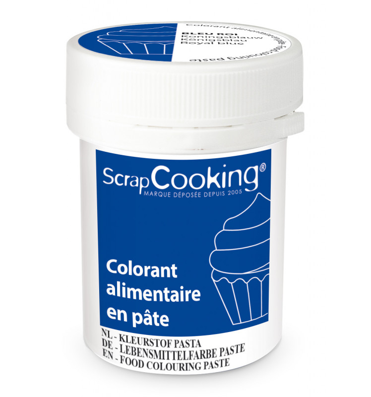 Food colouring paste 20g - Royal blue