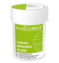 Colorant alimentaire en pâte vert pomme 20g réf.4261