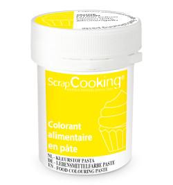 Colorant alimentaire en pâte jaune citron 20g réf;4263