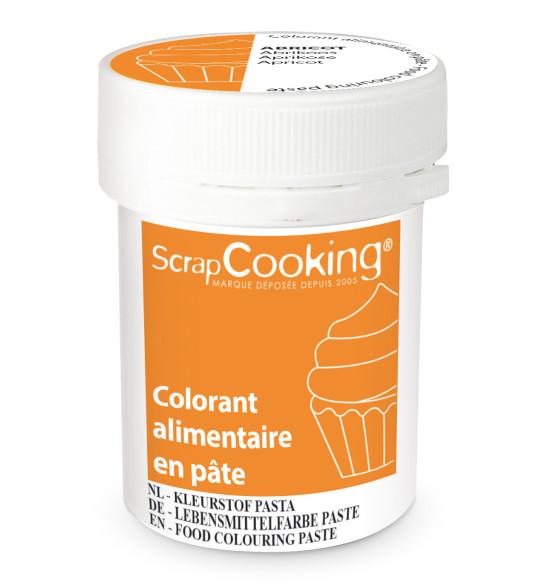 Colorant alimentaire en pâte abricot 20g