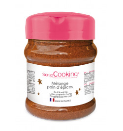 Pot of gingerbread mix 70g