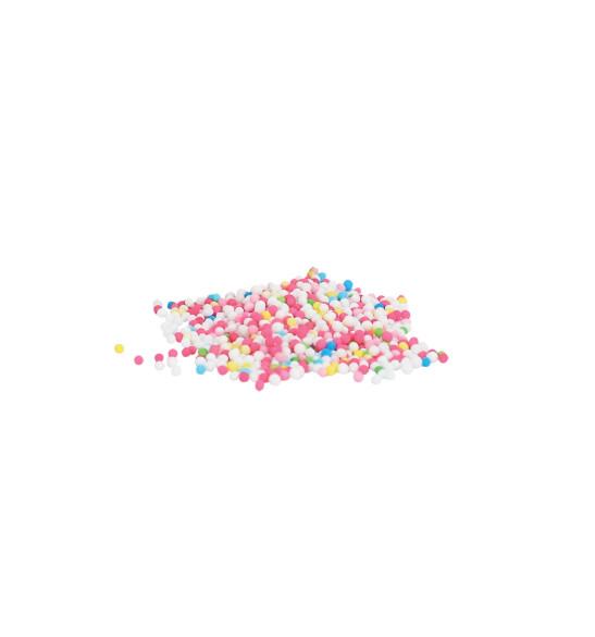 Pot de décors sucrés mini-billes multicolores