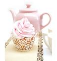 Contours dentelle pour cupcakes x 12