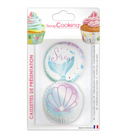Packaging Caissettes Sirène +/- 36 réf.5069