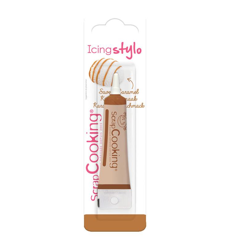 Icing stylo caramel