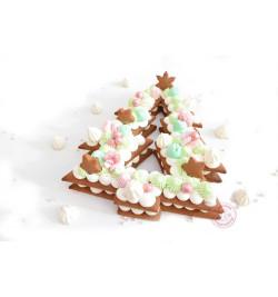 Réalisation sapin Christmas cake réf.3912