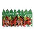 4 Moose cookie cutters