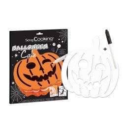Détail kit Halloween cake réf.3934