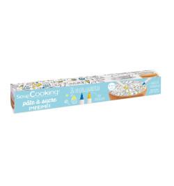 Rouleau pâte à sucre à colorier smile réf.7295