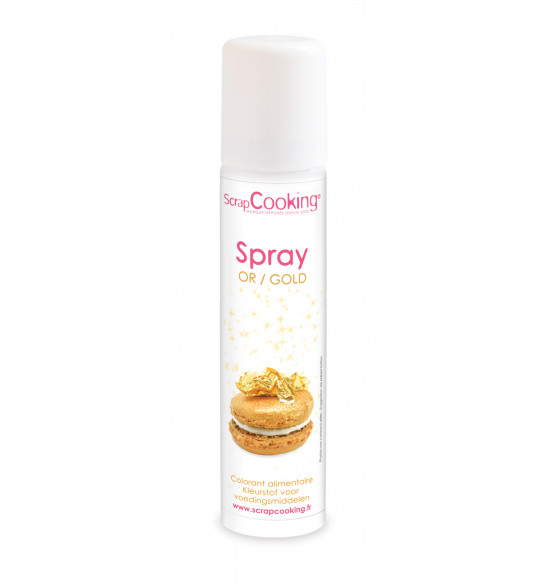 Gold food colouring spray 75 ml