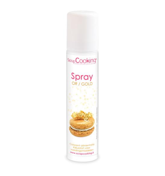 Spray colorant or
