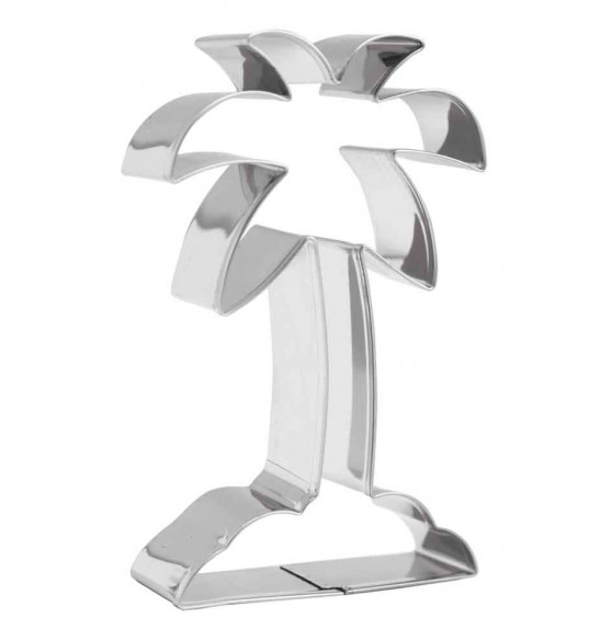 Palm tree stainless steel cutter