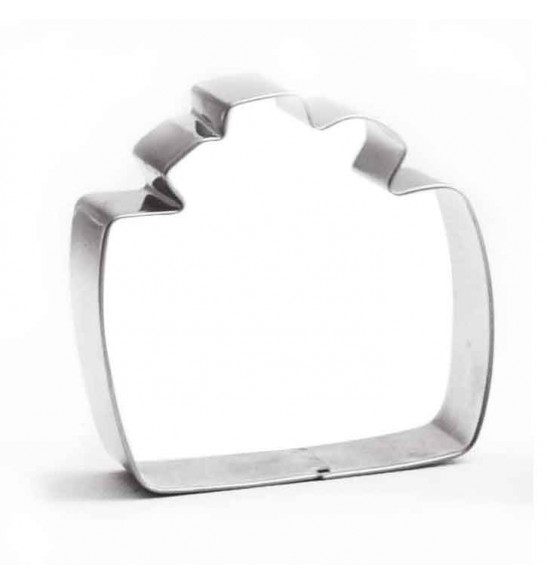 Stainless steel gift cutter