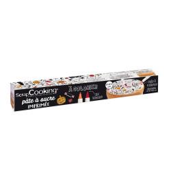 Rouleau pâte à sucre à colorier Halloween réf.7296