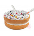 Halloween colouring sugarpaste roll 150g