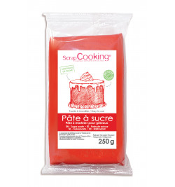 Red sugarpaste pack 250 g
