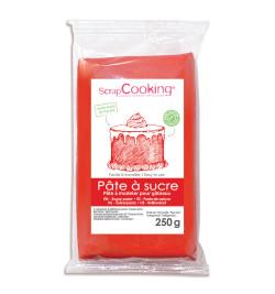 Pâte à sucre rouge 250g réf.7221