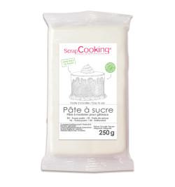Pâte à sucre blanche 250g réf.7234