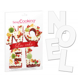 3919 Kit Letter Cake Noël