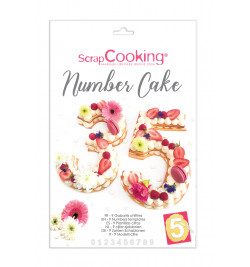 Kit number cake réf.3927