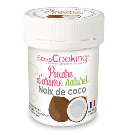 4443 Pot de poudre d'arôme naturel noix de coco