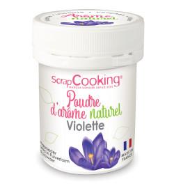 4444 Pot de poudre d'arôme naturel violette