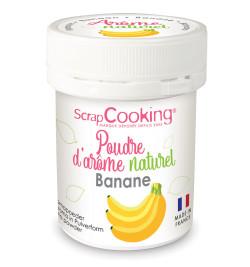 4448 Pot de poudre d'arôme naturel banane