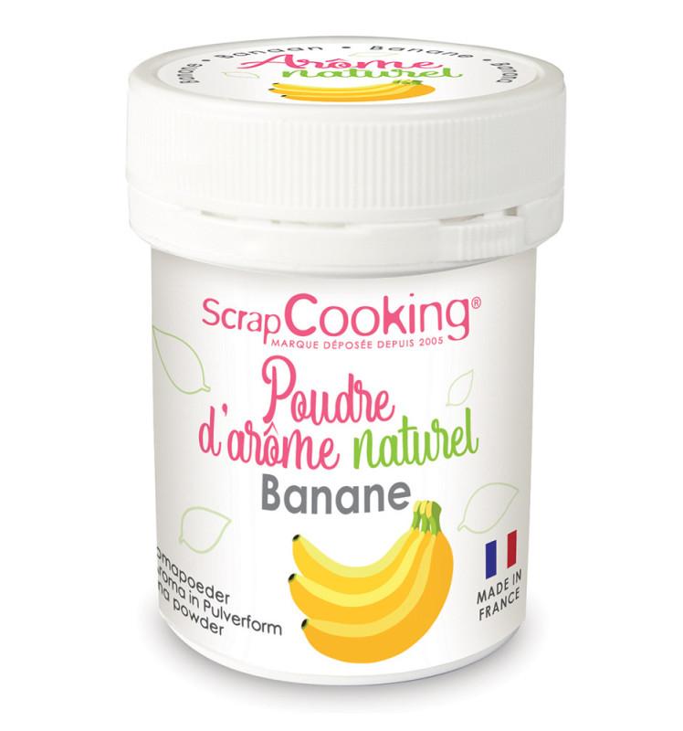 Pot of Banana natural powdered flavouring 15g