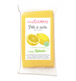 Yellow sugarpaste with...