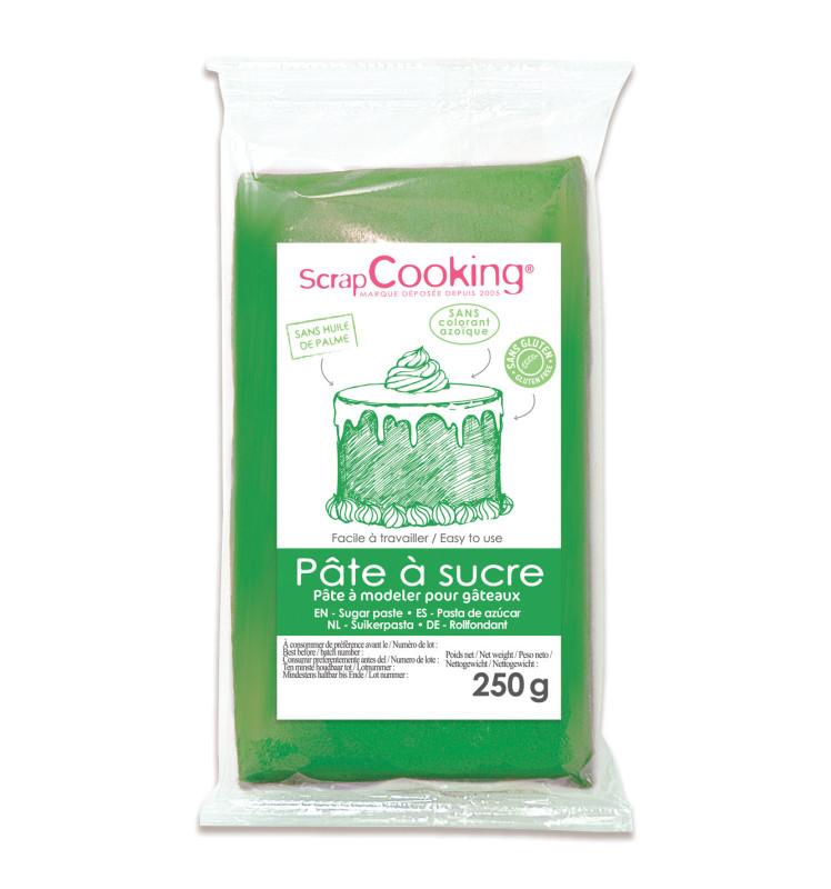 Green sugarpaste pack 250 g